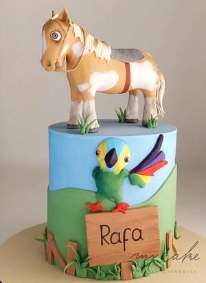 Caballito de la granja - Cake by Natalia Casaballe