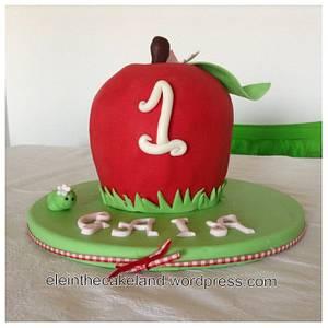 3D Apple cake - Cake by Eleonora Del Greco