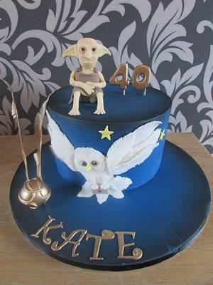 harry potter theme - Cake by jen lofthouse