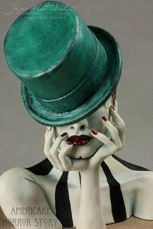 Americake Horror Story - Freak Show - Cake by Jennifer Holst • Sugar, Cake & Chocolate •
