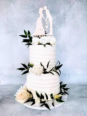 Greenery weding - Cake by alenascakes
