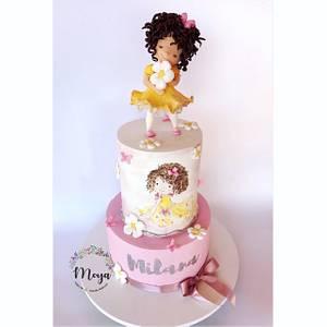 Little girl - Cake by Branka Vukcevic