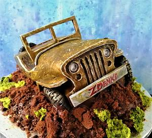 3d Jeep Willys - Cake by Torty Zeiko