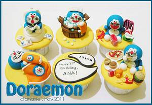 Doraemon on Vacation - Cake by Diana