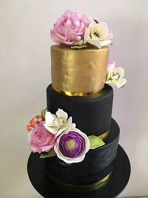 60th bday cake - Cake by Savyscakes