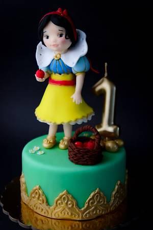 Little Snow White - Piccola Biancaneve - Cake by Art_Cake_Design