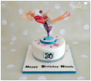 Party Barbie - Cake by bluebellcakes