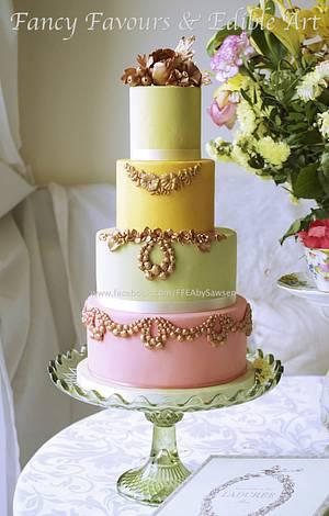 Laduree inspired cake - Cake by Fancy Favours & Edible Art (Sawsen)