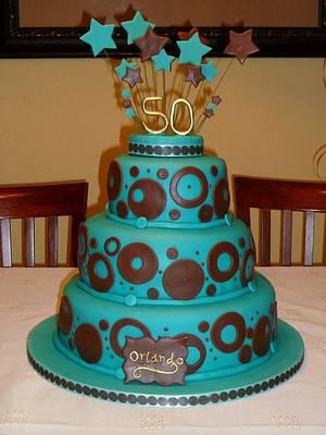 50th Birthday Cake - Cake by marcar2m