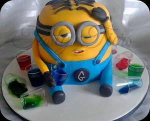 say hello to drunk dave! - Cake by Tasty Tiers