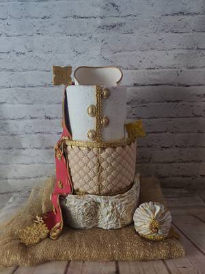 Indian Wedding Dress Cake - Cake by Dr RB.Sudha