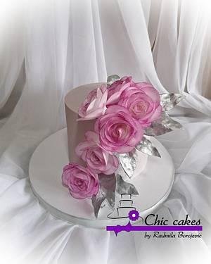 Roses cake - Cake by Radmila