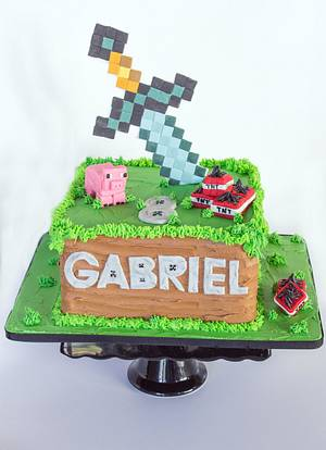 Minecraft - Cake by Anchored in Cake