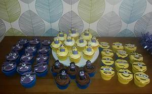 Minion Overload Cupcakes - Cake by Truly Scrumptious Cakes by Christine