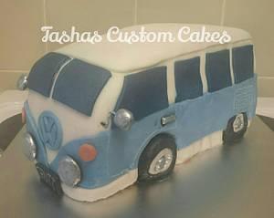 VW Campervan - Cake by Tasha's Custom Cakes