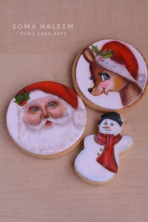 Christmas cookies  - Cake by SomaHaleem