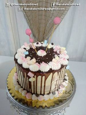 Drip Drip Drip - Cake by TheCake by Mildred