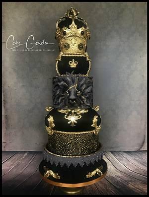 Royal Wedding Cake - Cake by Cake Garden