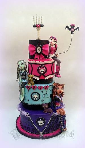Monster High - Cake by Nessie - The Cake Witch