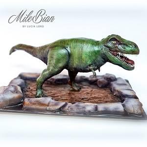 3D T-Rex Cake - Cake by MileBian