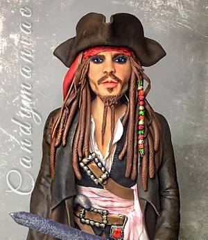 Jack Sparrow  - Cake by Mania M. - CandymaniaC