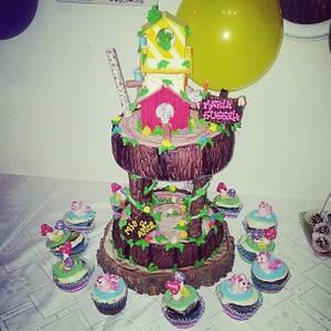 Tree Cake - Cake by María Florencia Juárez