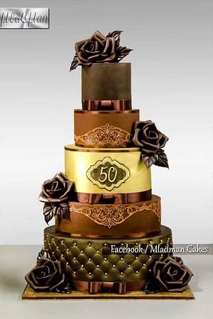 Happy anniversary,  sir! - Cake by MLADMAN