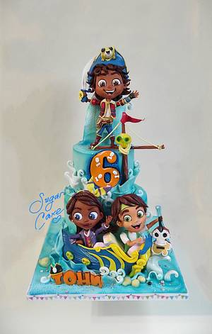 Santiago of the Seas - Cake by Tanya Shengarova
