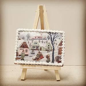 The Czech Winter - Cake by Jana R