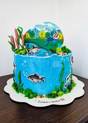 Fisherman cake  - Cake by Vyara Blagoeva
