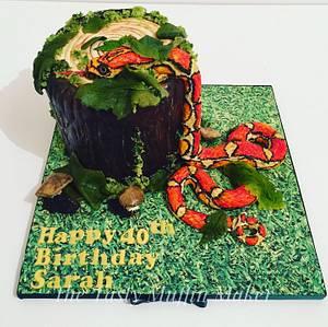 Corn snake - Cake by Andrea