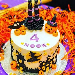 Halloween cake - Cake by Cakeandmore2020
