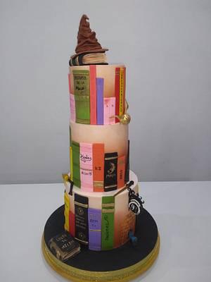 """TORTA DE 15 """"HARRY POTTER"""" - Cake by SONIA PORCÚ"""