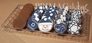 Hanukkah Cookies - Cake by Prima Cakes and Cookies - Jennifer