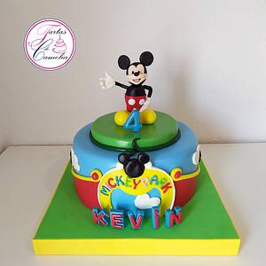 TARTA MICKEY MOUSE KEVIN - Cake by Camelia