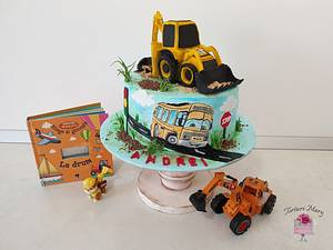 On the road!! - Cake by Torturi Mary
