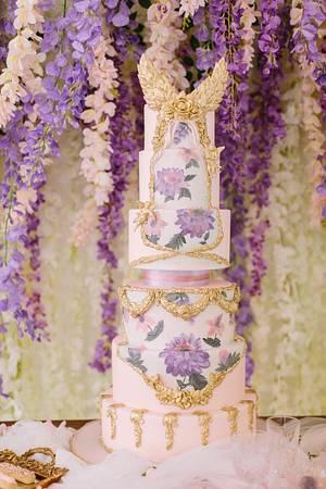 Versailles Romantisme Cake  - Cake by Sara & Soha Cakes - i.e. Gourmelicious