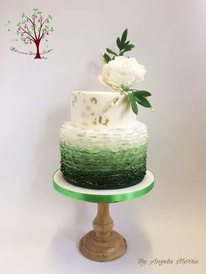 Spring Wedding - Cake by Blossom Dream Cakes - Angela Morris