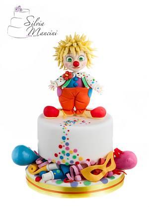 The little clown - Cake by Silvia Mancini Cake Art