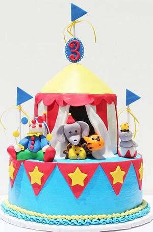 Circus Cake - Cake by Kerrin
