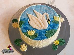Buttercream Serenity - Cake by Simmz