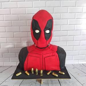 Deadpool - Cake by Yesiyodra90