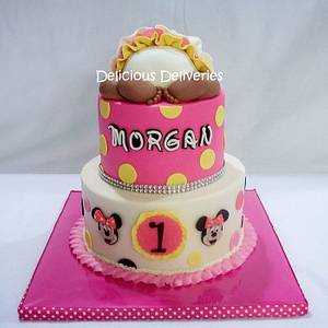 Minnie Mouse Baby Bottom Cake - Cake by DeliciousDeliveries