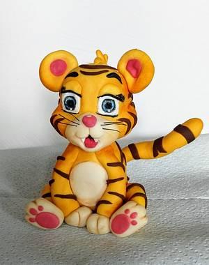 Baby tiger - Cake by Anka