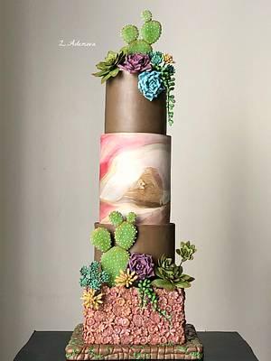 Succulent cake!,,, - Cake by More_Sugar