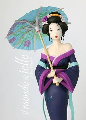 Geisha - Cake by il mondo di ielle