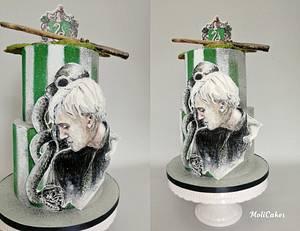 Harry Potter - Draco Malfoy  - Cake by MOLI Cakes