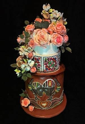 Wedding cake - Cake by WorldOfIrena