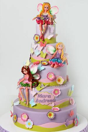 Fairies Cake - Cake by Viorica Dinu