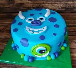 Cartoon cake - Cake by Naro
